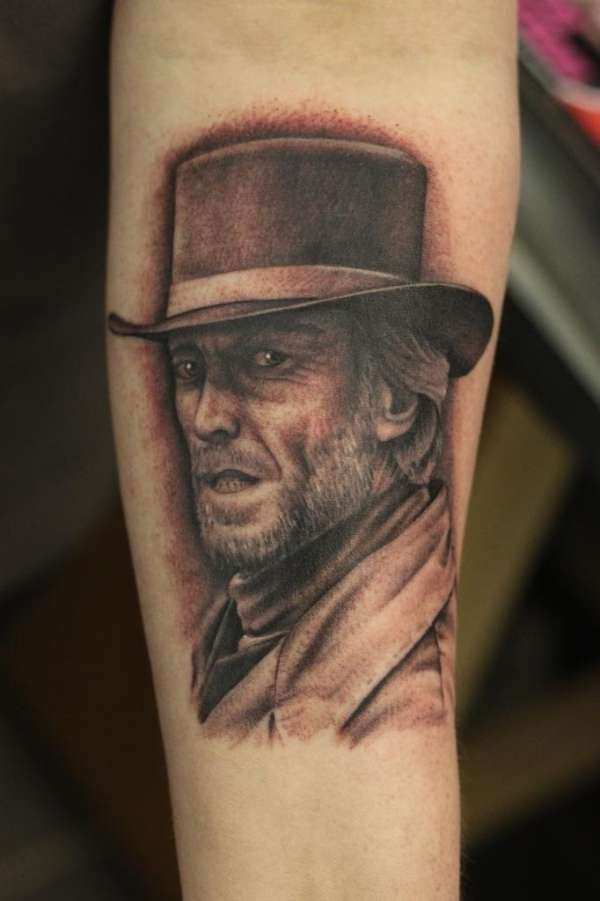 clint eastwood......pale rider tattoo