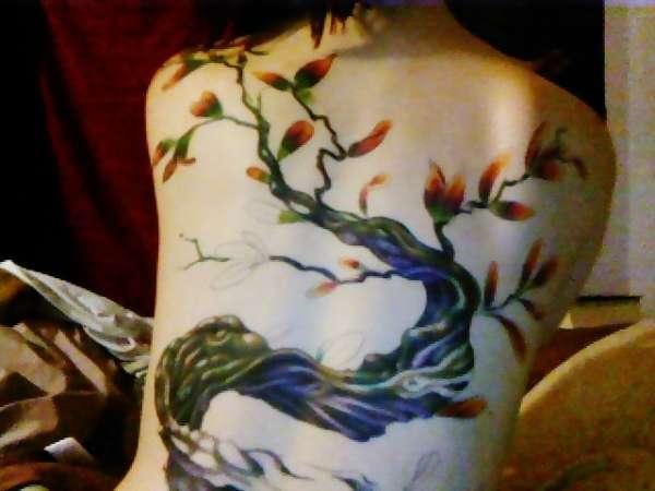 more tree tattoo
