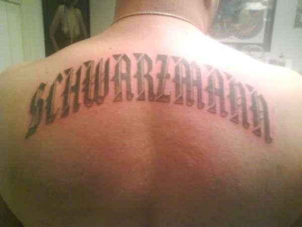 First pro tattoo tattoo
