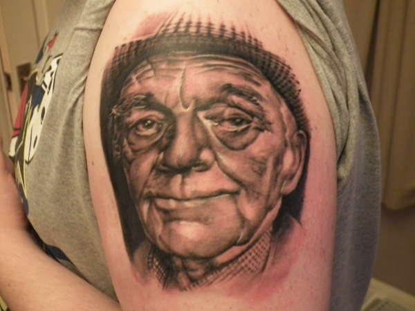 My Grandad R.I.P tattoo