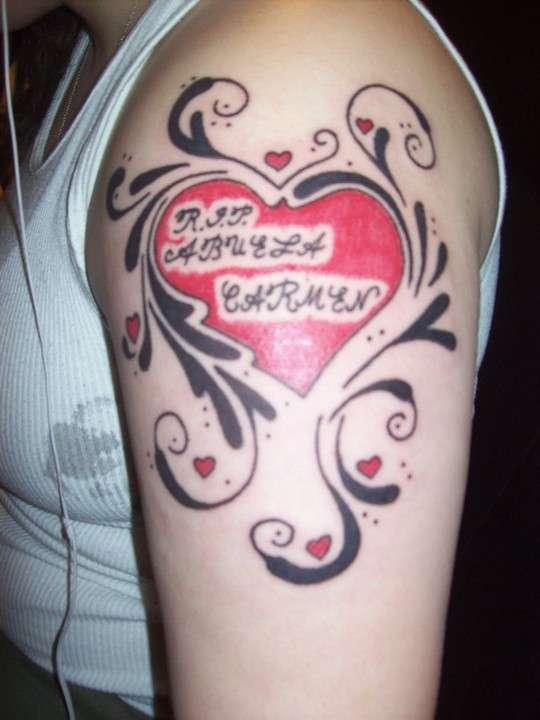 R.I.P Abuela Carmen tattoo