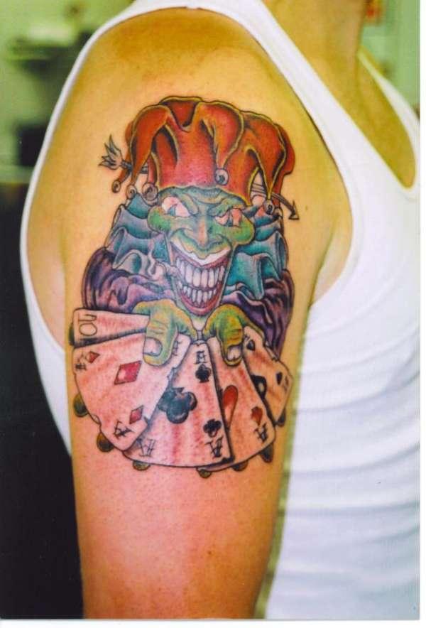 joker wins. tattoo