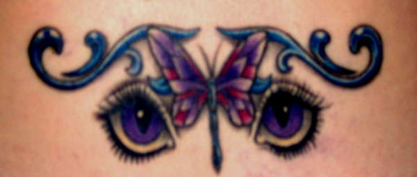 Bedroom Eyes tattoo