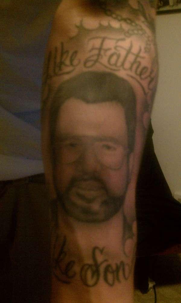 like father like son tattoo