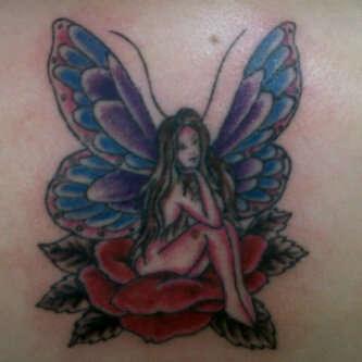 my sisters tattoo colored tattoo