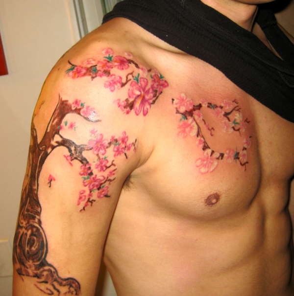 my style cherry blossom tattoo