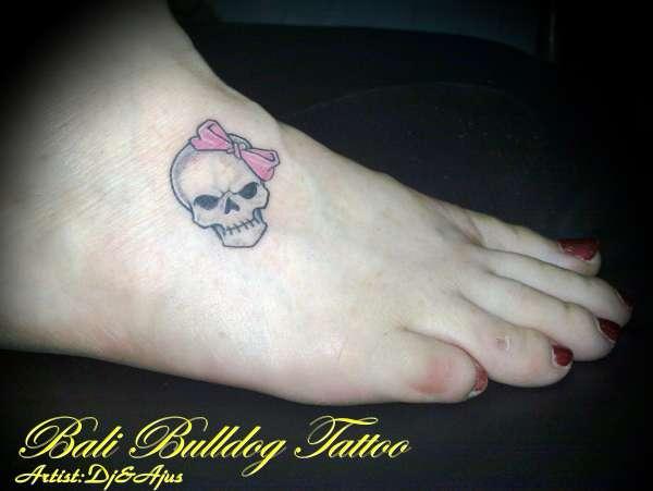 CUTE SKULL tattoo
