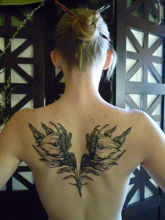Melissa's Lilies tattoo