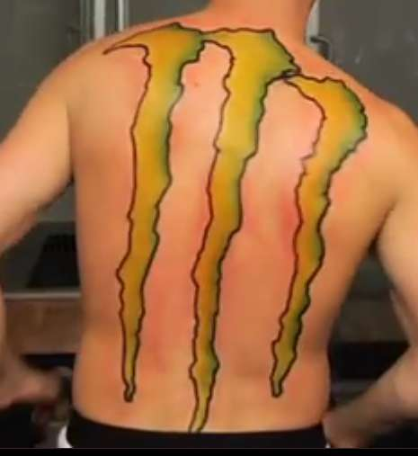 Rob Dyrdek monster tattoo tattoo