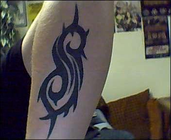 SLIPKNOT tattoo