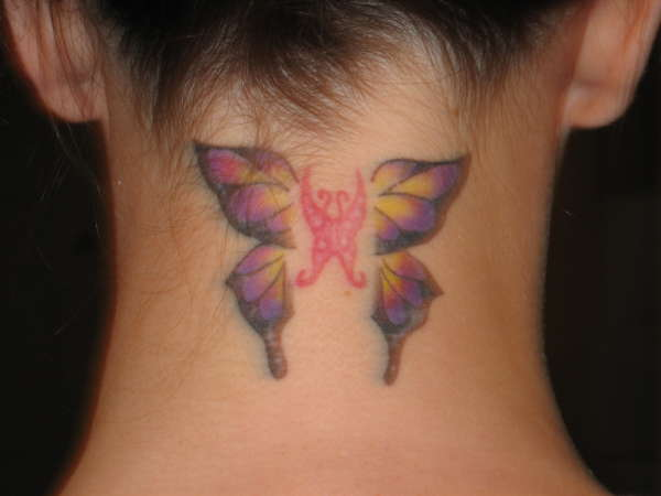 My neck tattoo