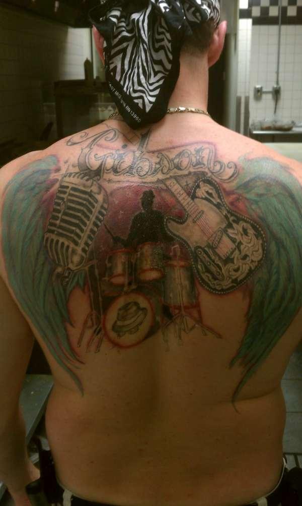 One Man Band Tattoo