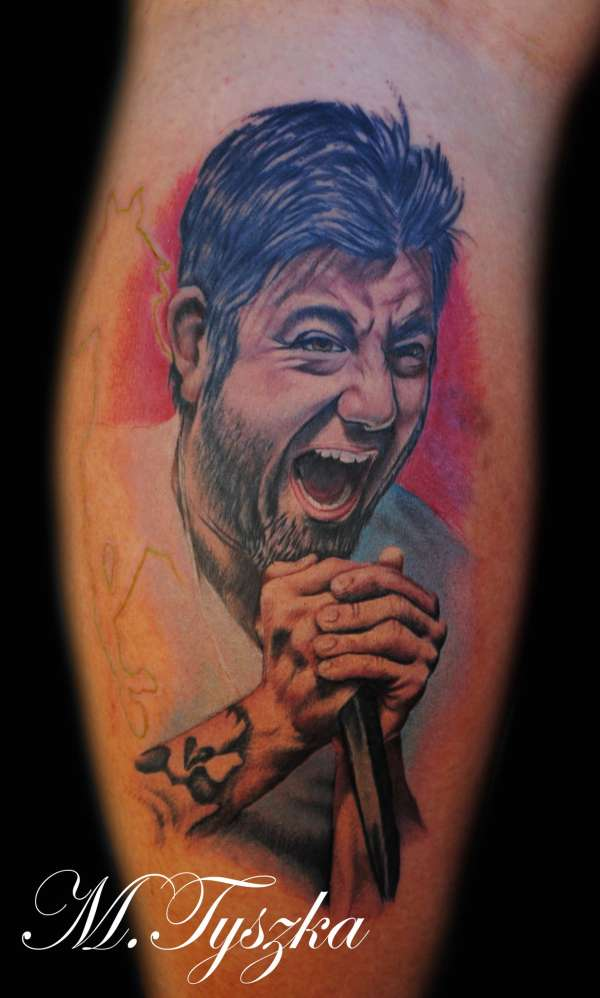 Chino Moreno DEFTONES tattoo