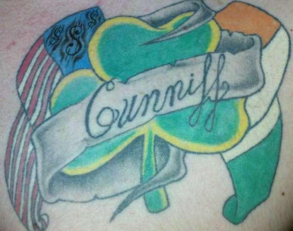 Clover Piece tattoo