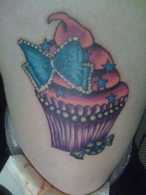 Cute Cupcake tattoo