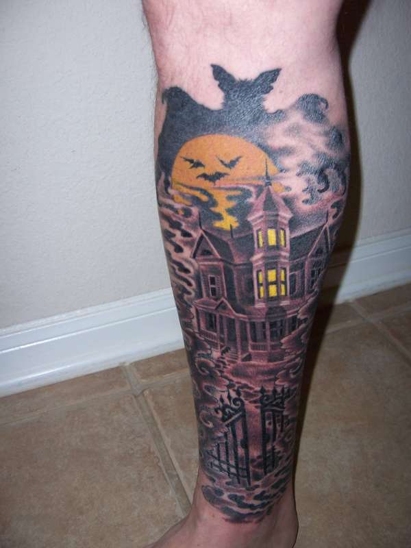 My Haunted House tattoo