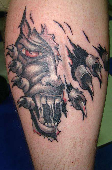OH YEH WHAT A BONUS tattoo