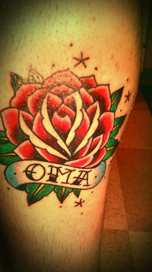roos oma tattoos