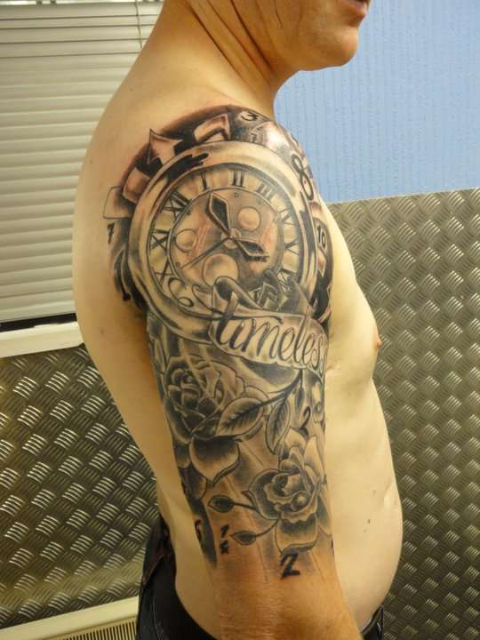 Timeless Sleeve tattoo