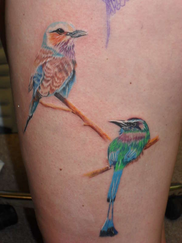 birdies tattoo