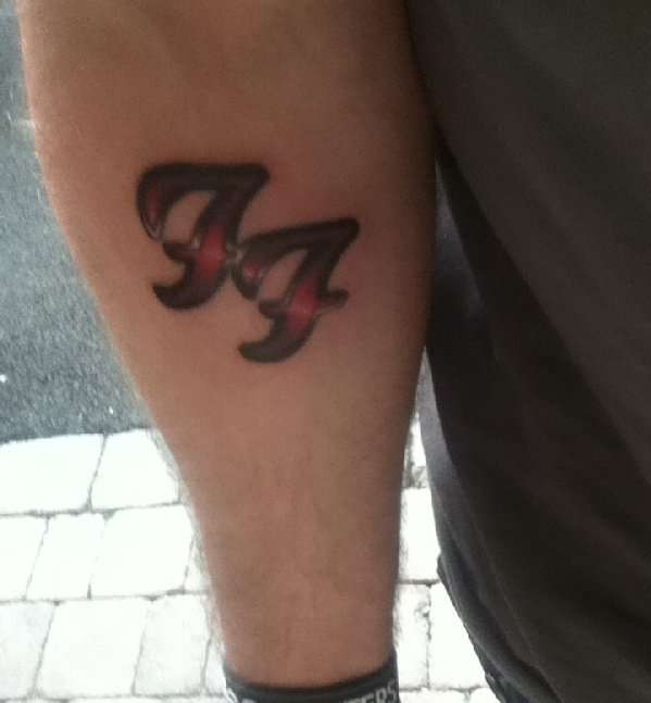 foo fighters tattoo