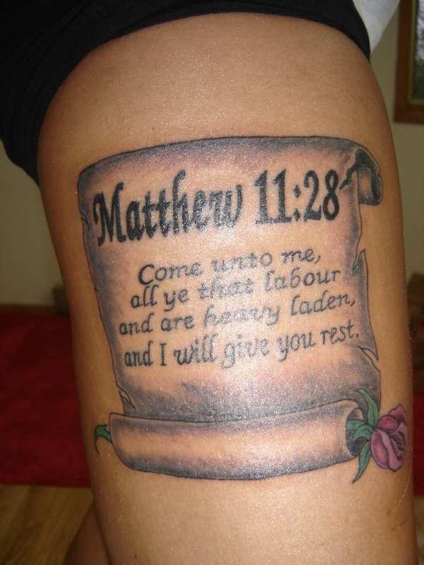 Matthew Tattoo