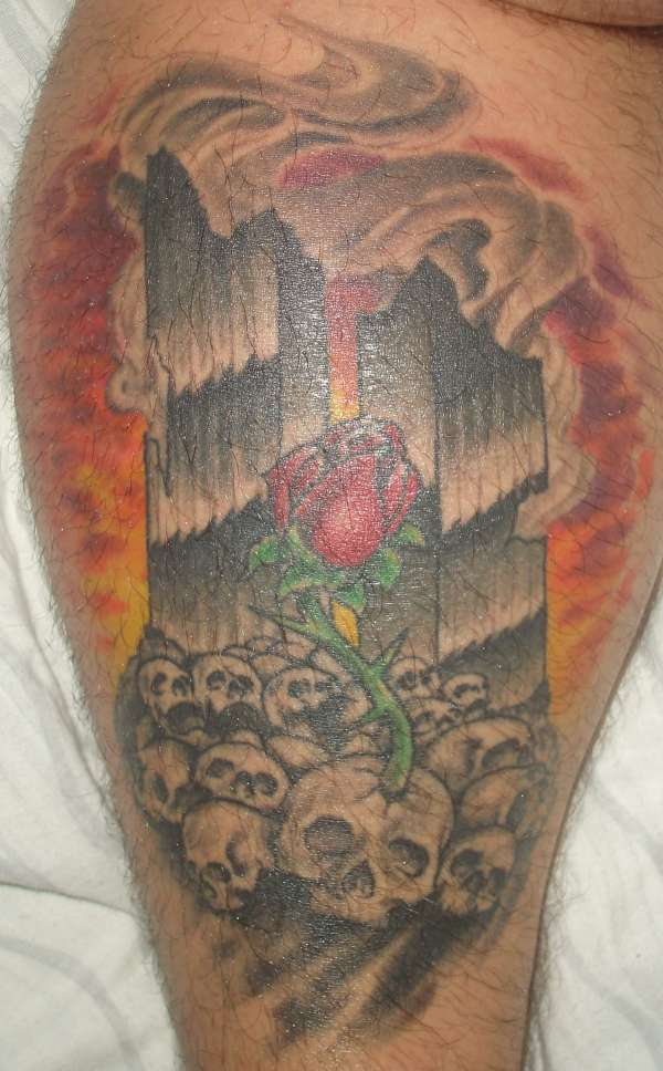 memorial 911 tattoo