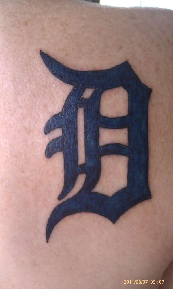 Proud to be from Detroit tattoo