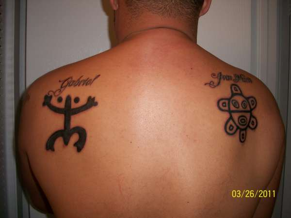 Taino Blood Tattoo