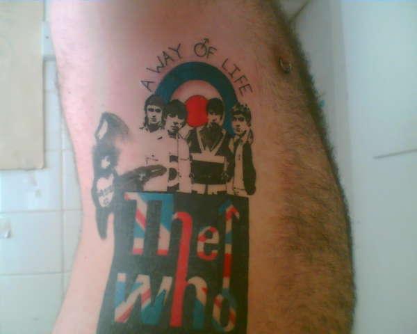 the who tattoo