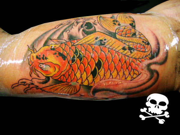 Carpa tattoo