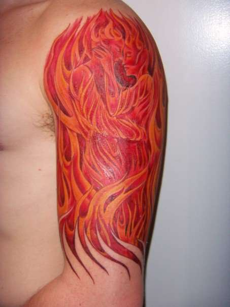 Flames of Passion tattoo