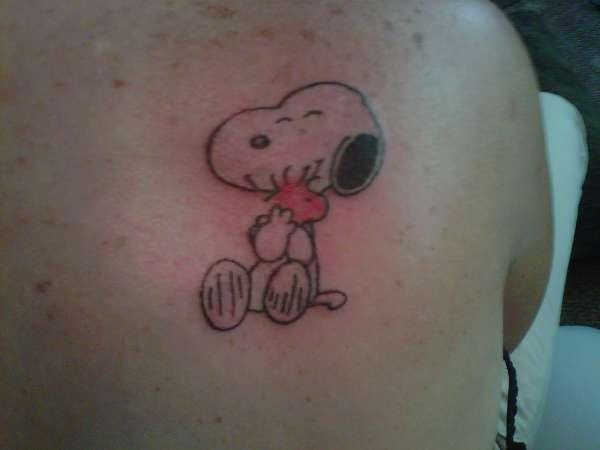 Snoopy Woodstock Tattoo
