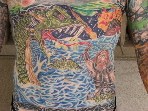 Thor's wyrd tattoo