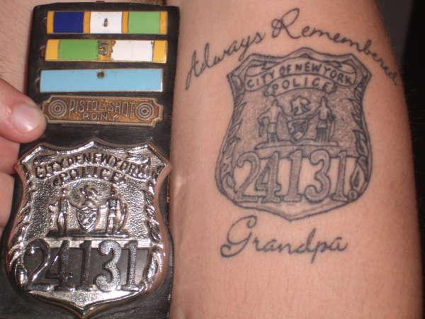 Grandpa Memorial Tattoo