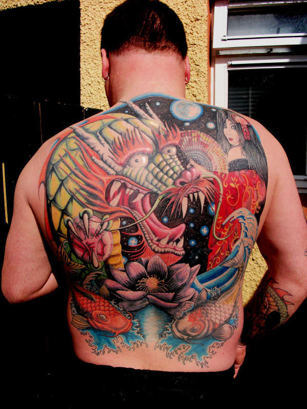 my   full  back peice tattoo