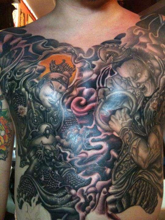 Chest Tattoo tattoo