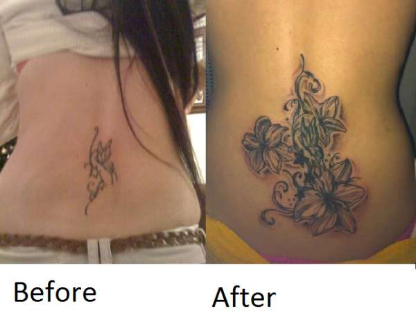 Before and after cover up tattoo for Can you get a tattoo before surgery