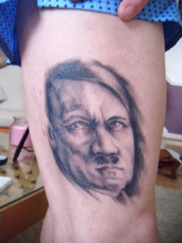 Hitler tattoo