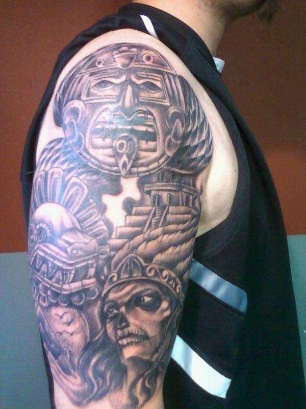 aztec by el cat in laredo tx tattoo