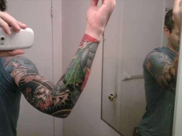 Finally done tattoo