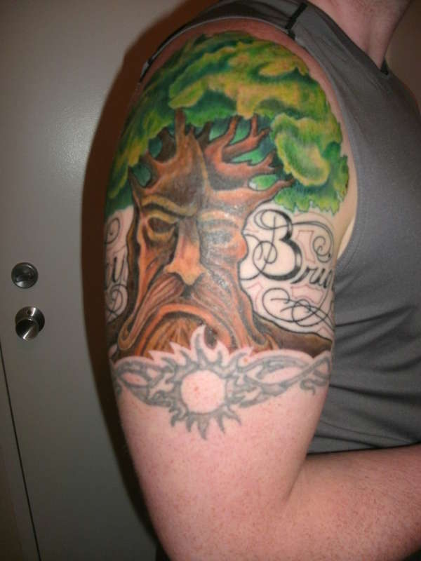 Old Man Tree tattoo