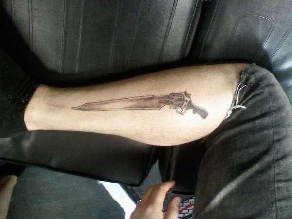 Edea Final Fantasy 8 wip |Final Fantasy 8 Gunblade Tattoo