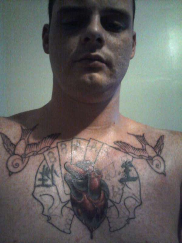 Chest Piece And Cover Up The Chinese Symbols Tattoo
