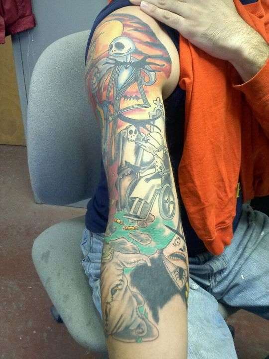 Second view rd session nightmare before christmas sleeve