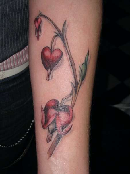 bleeding hearts tattoo