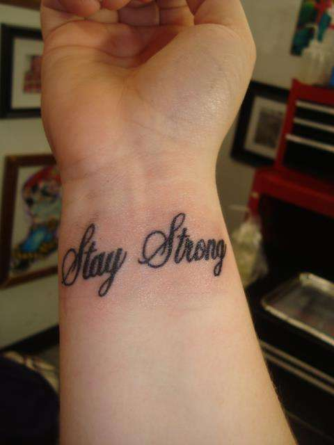 spesso Strong tattoo EL15