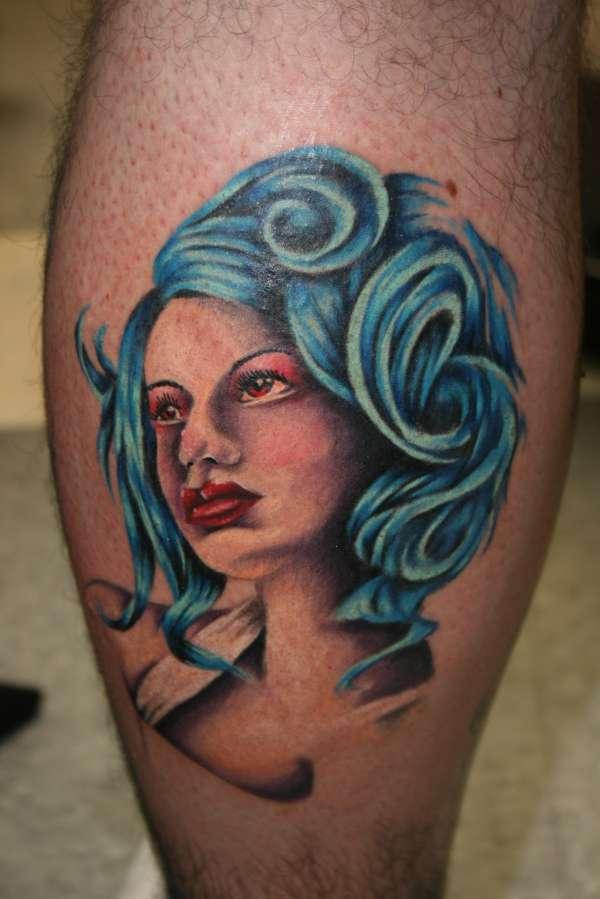 Alternative Beauty Queen tattoo