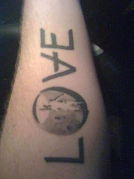 Angels and airwaves tattoo