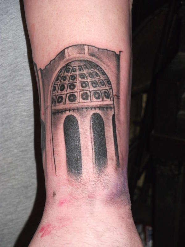 Rotunda at Ohio State Stadium tattoo